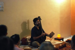 Satsang at Neerad & Sheetal's home in Pune