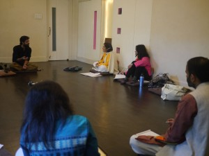 Workshop on Kabir songs at Urban Ashram in Pune